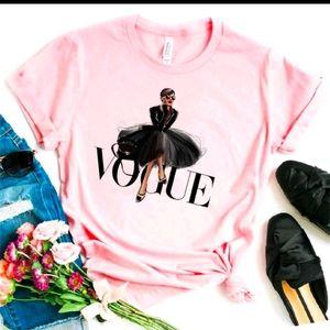 Pink Vogue T-shirt